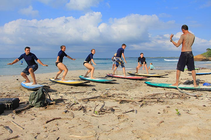 surf coaching experience theory