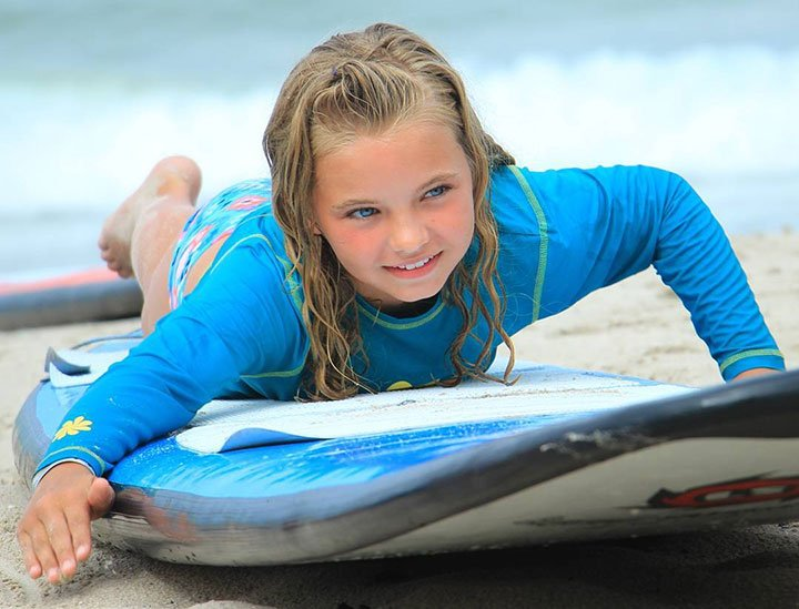 surf lessons for kids of all ages