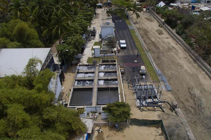 sweage treatment plant sayulita